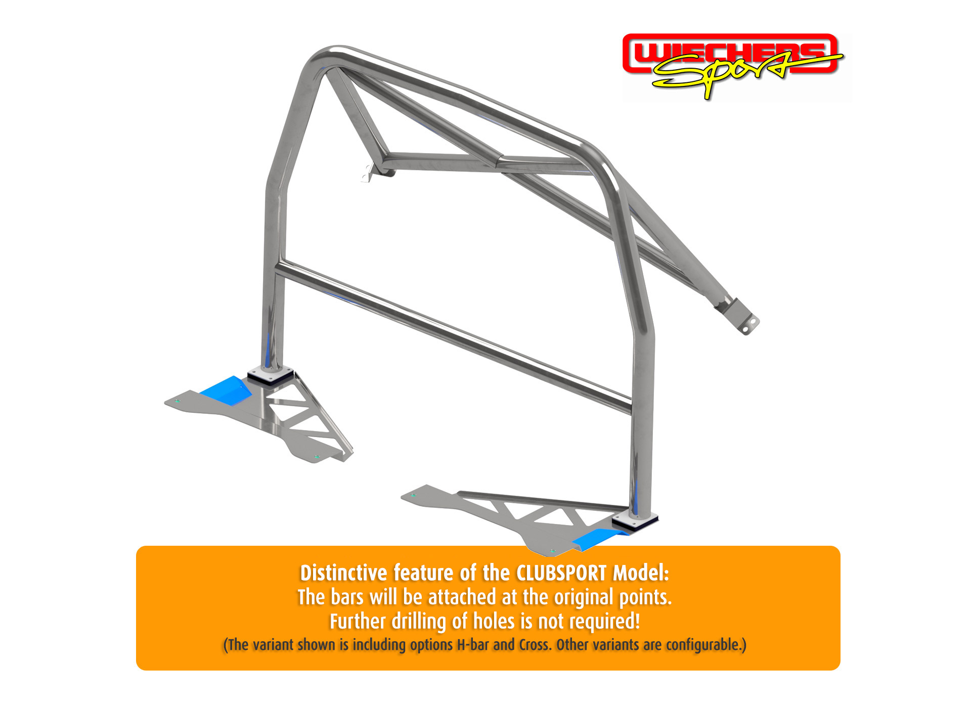 Wiechers Clubsport - Half Roll Cage
