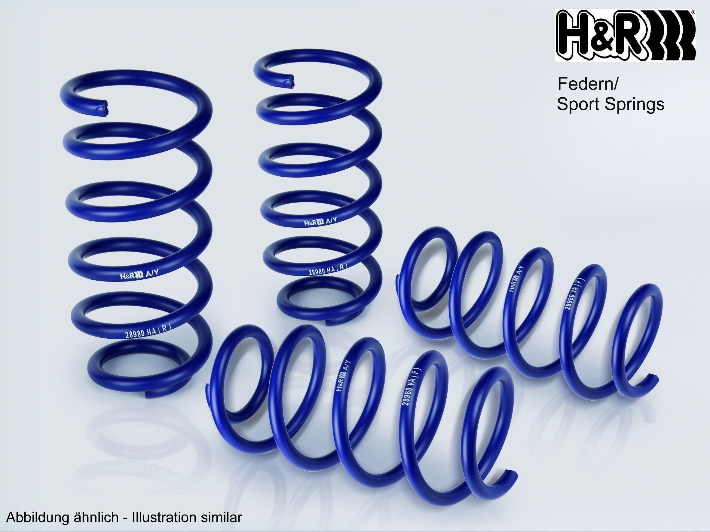 H&R Lowering Springs - Alfa Giulietta All models 2010-, 1.8 235PS, 241PS  - 20mm Lower
