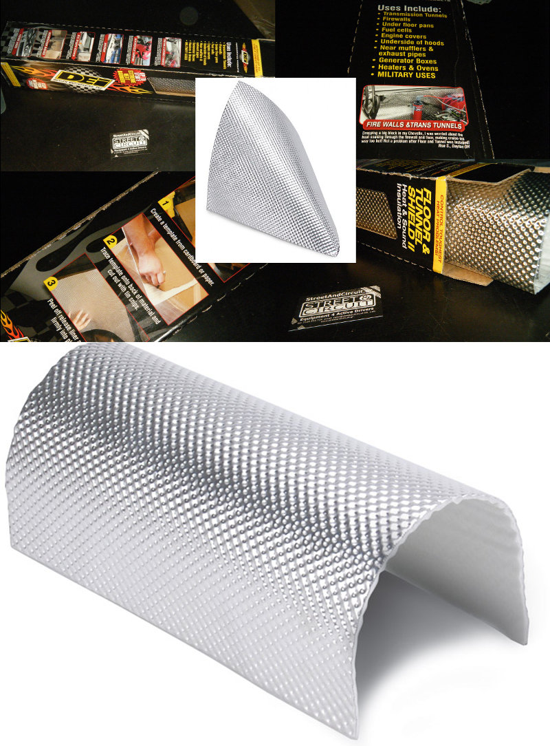 0.6m x 53cm - Floor & Tunnel Shield, Protect Paint/Metal from catalytic convertor/exhaust/turbo - 950C MAX