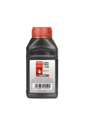 Ferodo DOT5.1 Υγρά Φρένων/Brake Fluid – 1x500ML - 260C Dry Boiling Point