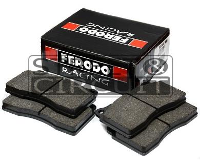 VOLKSWAGEN Golf V (1K1) 2.0 GTI, 09/06-, Ferodo DS2500 FRONT