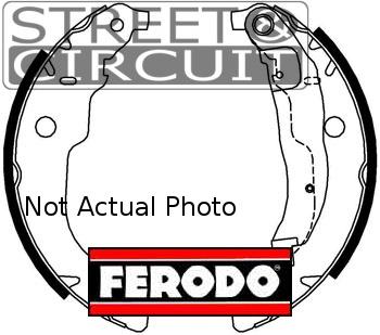 ΣΙΑΓΟΝΕΣ - FERODO - SKODA OCTAVIA 1.6 1997-2004