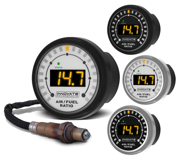 MTX-L: Complete All-In-One Air/Fuel Ratio Gauge Kit - MTX Series Digital Air/Fuel Ratio Gauge Kit (ALL-IN-ONE) (52mm)