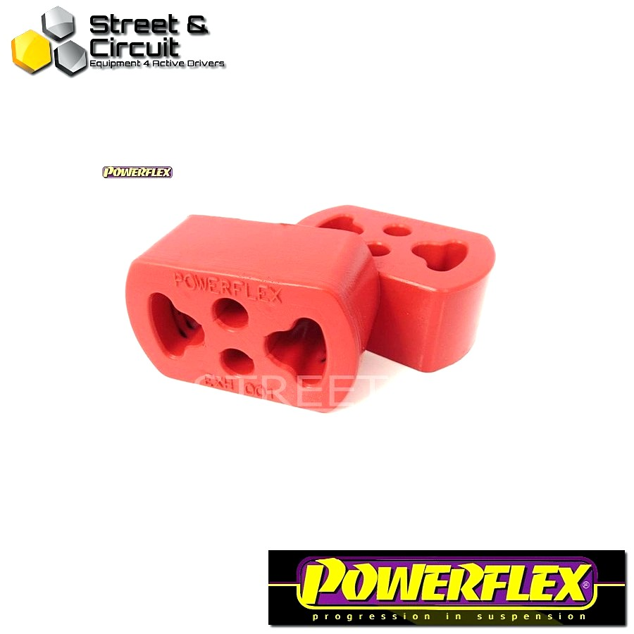 Powerflex Σινεμπλόκ - 306 - Exhaust Mount Code: EXH001 - 1 Piece - Quantity Required: 2