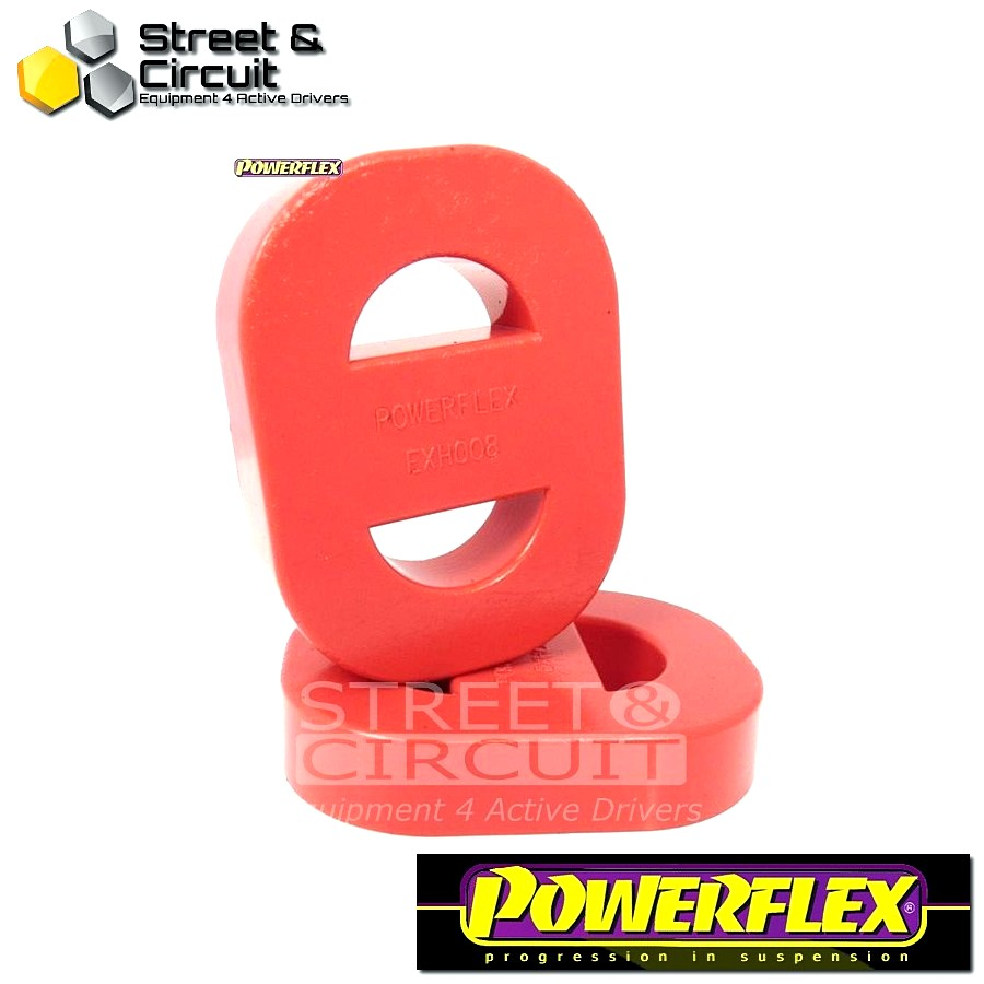 Powerflex Σινεμπλόκ - EXHAUST MOUNT - Universal Exhaust Mount Code: EXH008 - 1 Piece - Quantity Required: 1