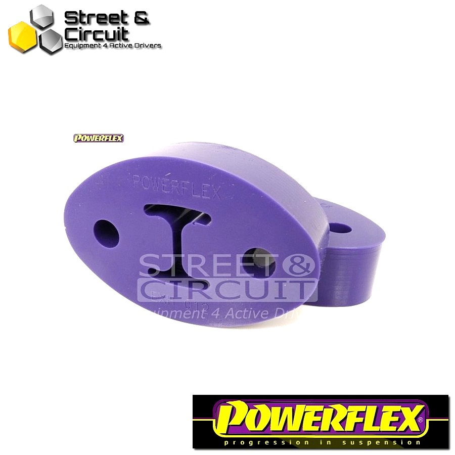 Powerflex Σινεμπλόκ - EXHAUST MOUNT - Universal Exhaust Mount Code: EXH012 - 1 Piece - Quantity Required: 1