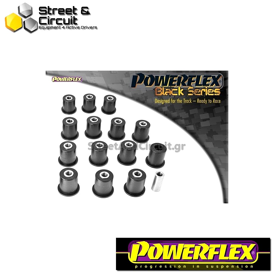 | ΑΡΙΘΜΟΣ ΣΧΕΔΙΟΥ  | - Powerflex BLACK SERIES *ΣΕΤ* Σινεμπλόκ - VX220 (Opel Speedster) - Front & Rear Wishbone Bush Code: PF34-201BLK