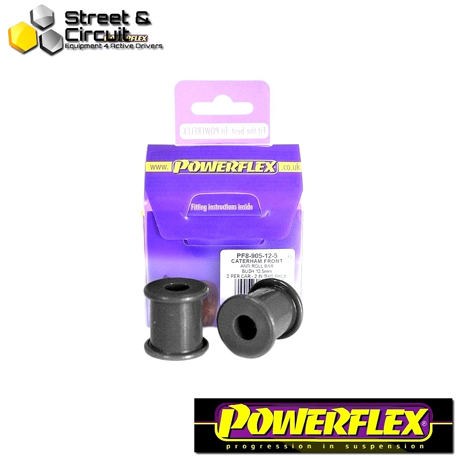 | ΑΡΙΘΜΟΣ ΣΧΕΔΙΟΥ 3 | - Powerflex ROAD *ΣΕΤ* Σινεμπλόκ - 7 (DeDion Without Watts Linkage) - Front Anti Roll Bar Bush 12.5mm Code: PF8-905-12.5