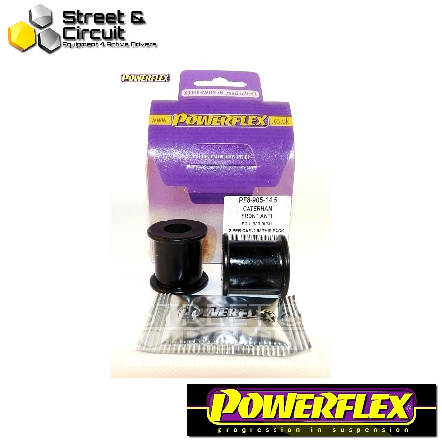 | ΑΡΙΘΜΟΣ ΣΧΕΔΙΟΥ 3 | - Powerflex ROAD *ΣΕΤ* Σινεμπλόκ - 7 (DeDion Without Watts Linkage) - Front Anti Roll Bar Bush 14.5mm Code: PF8-905-14.5