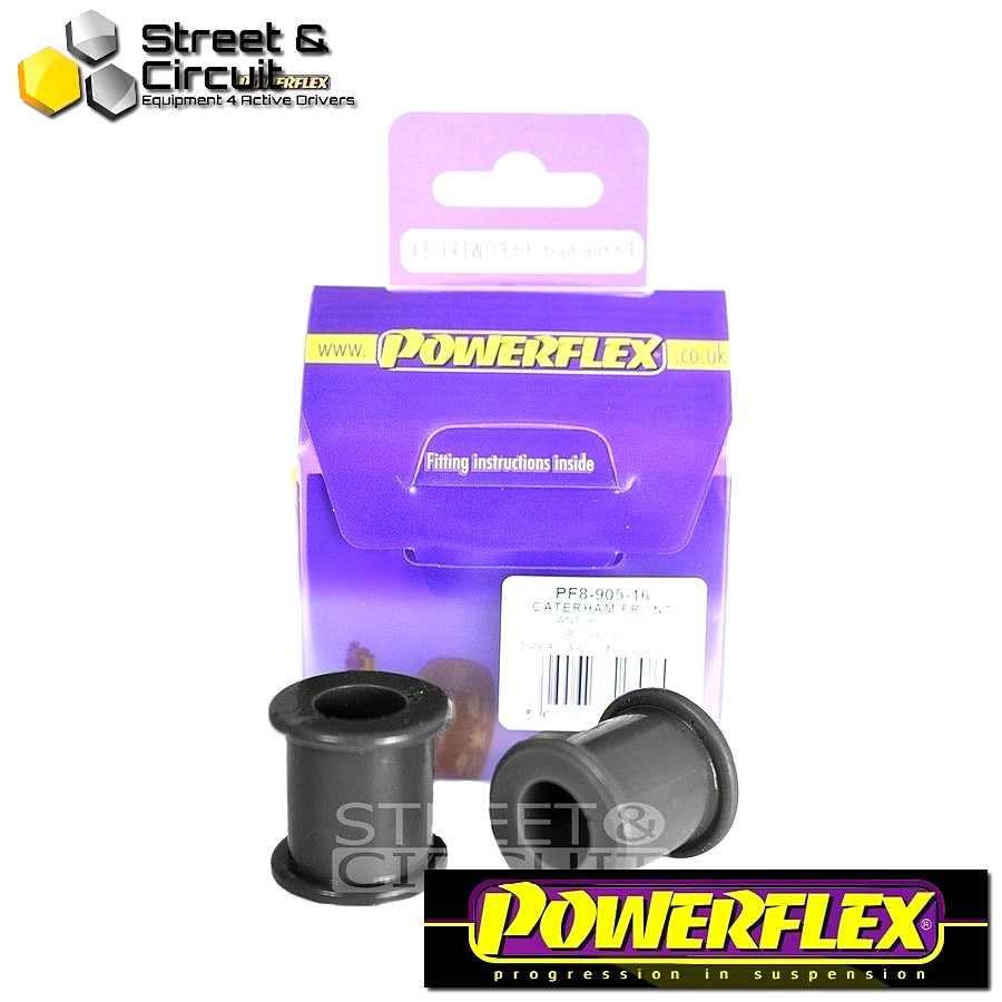 | ΑΡΙΘΜΟΣ ΣΧΕΔΙΟΥ 3 | - Powerflex ROAD *ΣΕΤ* Σινεμπλόκ - 7 (DeDion Without Watts Linkage) - Front Anti Roll Bar Bush 16mm Code: PF8-905-16