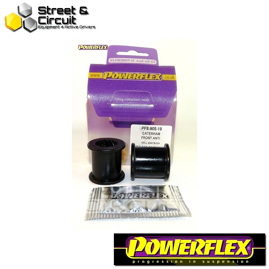 | ΑΡΙΘΜΟΣ ΣΧΕΔΙΟΥ 3 | - Powerflex ROAD *ΣΕΤ* Σινεμπλόκ - 7 (DeDion Without Watts Linkage) - Front Anti Roll Bar Bush 19mm Code: PF8-905-19