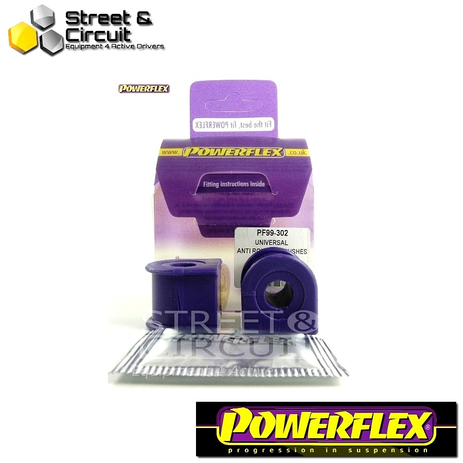 | ΑΡΙΘΜΟΣ ΣΧΕΔΙΟΥ  | - Powerflex ROAD *ΣΕΤ* Σινεμπλόκ - Anti Roll Bar Bushes - 300 Series Anti Roll Bar Bush 12mm Code: PF99-302