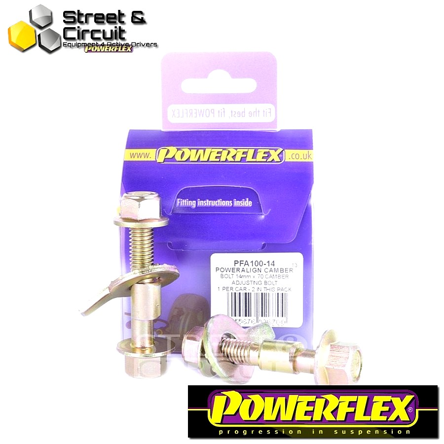 | ΑΡΙΘΜΟΣ ΣΧΕΔΙΟΥ  | - Powerflex ROAD *ΣΕΤ* Σινεμπλόκ - PT Cruiser (2000 - 2010) - PowerAlign Camber Bolt Kit (14mm)  Code: PFA100-14