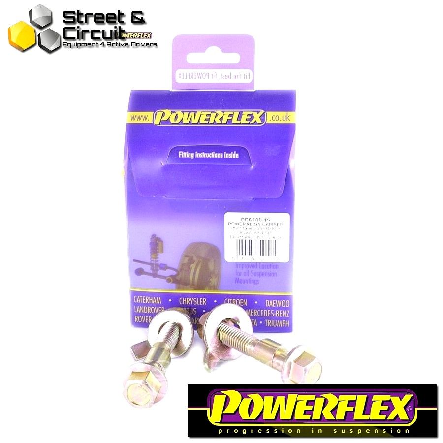 | ΑΡΙΘΜΟΣ ΣΧΕΔΙΟΥ  | - Powerflex ROAD *ΣΕΤ* Σινεμπλόκ - Yaris (2007 - 2011) - PowerAlign Camber Bolt Kit (15mm) Code: PFA100-15