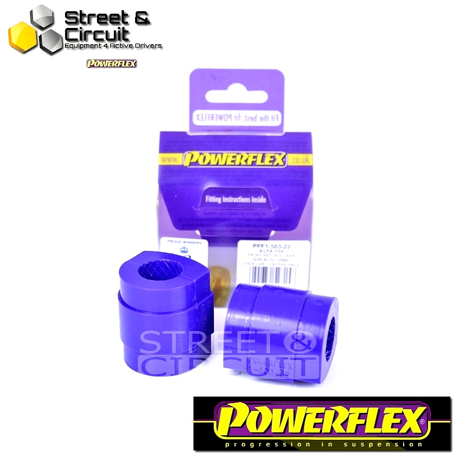 | ΑΡΙΘΜΟΣ ΣΧΕΔΙΟΥ 3 | - Powerflex ROAD *ΣΕΤ* Σινεμπλόκ - Spider (2005-2010) - Front Anti Roll Bar Bush 22mm Code: PFF1-503-22