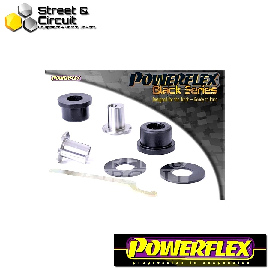 | ΑΡΙΘΜΟΣ ΣΧΕΔΙΟΥ 6 | - Powerflex BLACK SERIES *ΣΕΤ* Σινεμπλόκ - 159 (2005-2011) - Front Upper Arm Rear Bush, Adjustable Code: PFF1-506GBLK