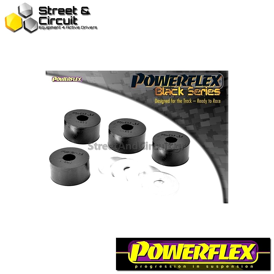 | ΑΡΙΘΜΟΣ ΣΧΕΔΙΟΥ 3 | - Powerflex BLACK SERIES *ΣΕΤ* Σινεμπλόκ - 164 V6 & Twin Spark (1987 -1998) - Front Anti Roll Bar End Link Mount To Arm Bush Code: PFF1-603BLK