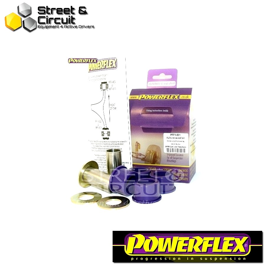 | ΑΡΙΘΜΟΣ ΣΧΕΔΙΟΥ 1 | - Powerflex ROAD *ΣΕΤ* Σινεμπλόκ - Delta (1993-2000), Dedra (1994-2000) - Front Lower Wishbone Front Bush Code: PFF1-801