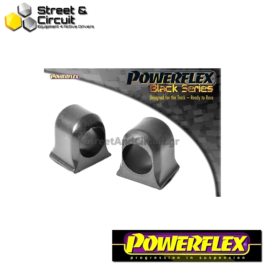 | ΑΡΙΘΜΟΣ ΣΧΕΔΙΟΥ 3 | - Powerflex BLACK SERIES *ΣΕΤ* Σινεμπλόκ - Uno inc Turbo - Front Anti Roll Bar Inner Mount Code: PFF16-105BLK