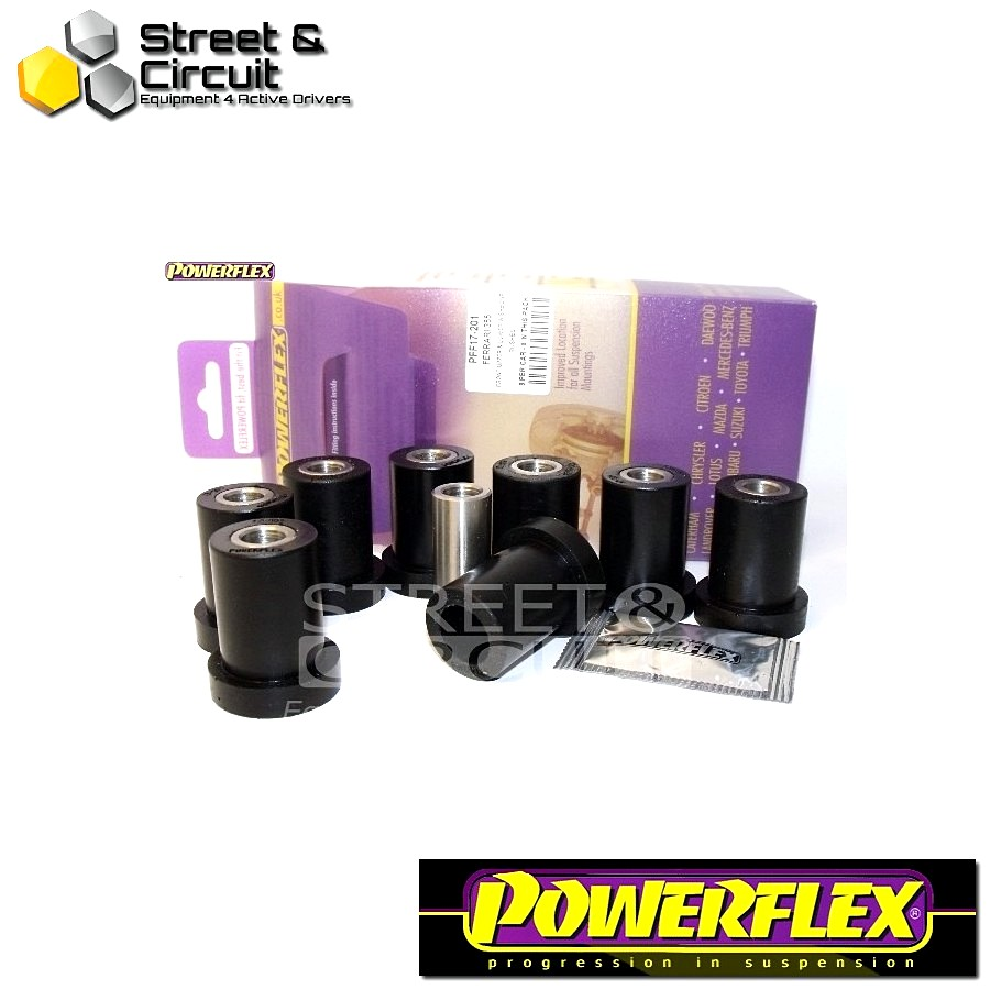 | ΑΡΙΘΜΟΣ ΣΧΕΔΙΟΥ 1 | - Powerflex ROAD *ΣΕΤ* Σινεμπλόκ - 355 (1994-1999) - Front Upper and Lower Wishbone Inner Bush Code: PFF17-201
