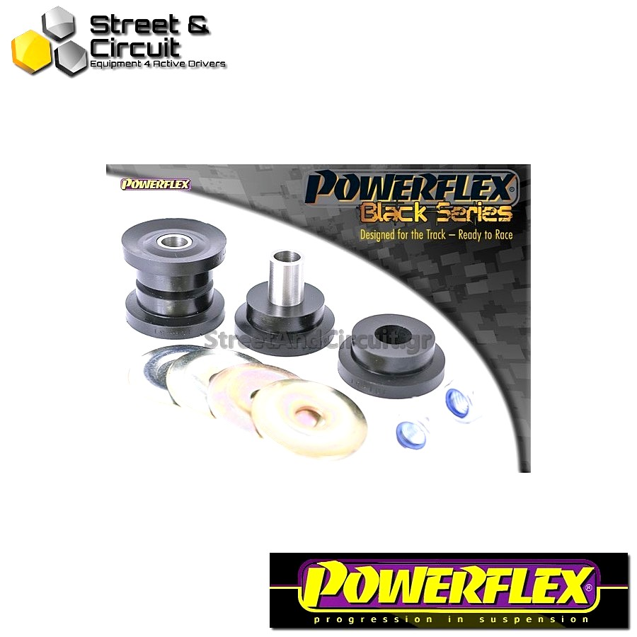 | ΑΡΙΘΜΟΣ ΣΧΕΔΙΟΥ 1 | - Powerflex BLACK SERIES *ΣΕΤ* Σινεμπλόκ - Scorpio All Types (up to 1996) - Front Outer Track Control Arm Bush Code: PFF19-101BLK