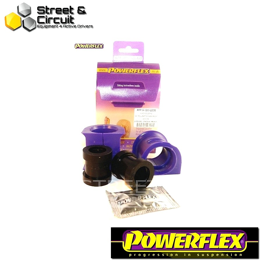 | ΑΡΙΘΜΟΣ ΣΧΕΔΙΟΥ 3 | - Powerflex ROAD *ΣΕΤ* Σινεμπλόκ - Mazda3 (2004-2009) - Front Anti Roll Bar To Chassis Bush 22mm Code: PFF19-1203-22OE