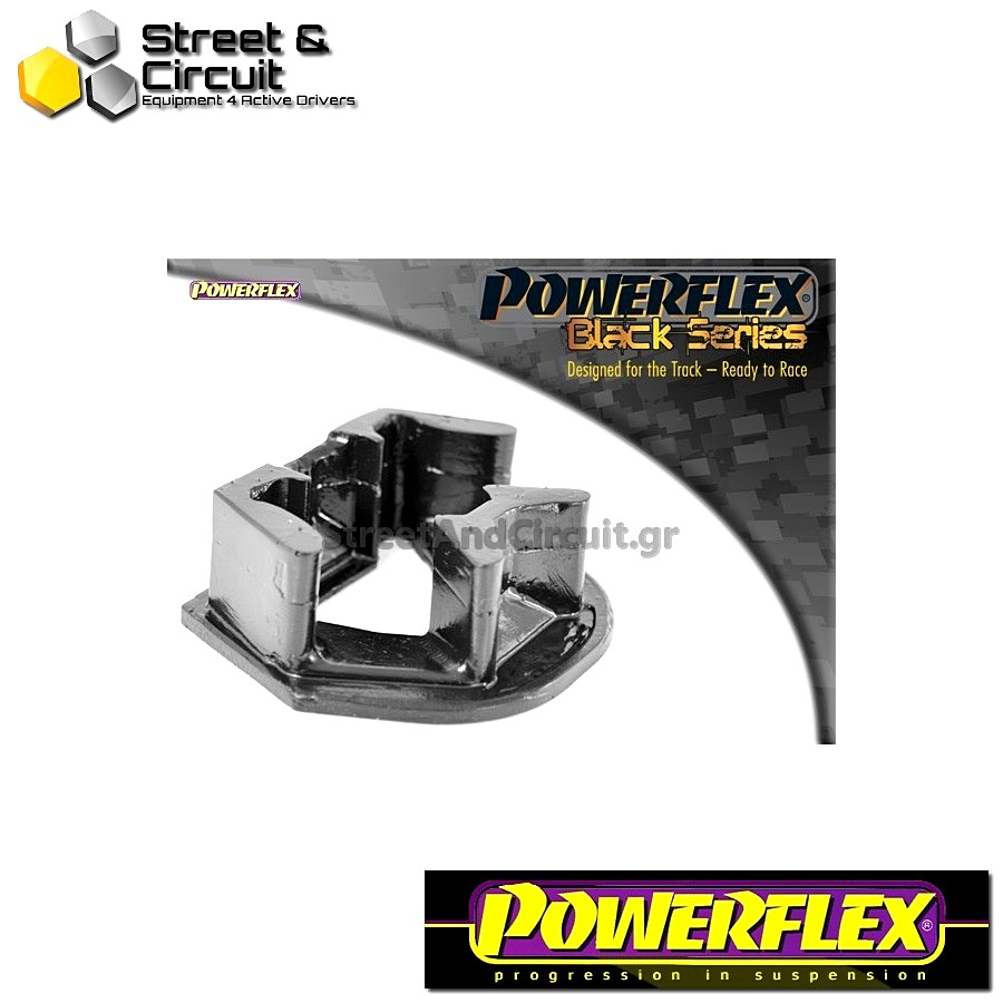 | ΑΡΙΘΜΟΣ ΣΧΕΔΙΟΥ 20 | - Powerflex BLACK SERIES *ΣΕΤ* Σινεμπλόκ - V50 (2004 onwards) - Lower Engine Mount Insert Code: PFF19-1222BLK