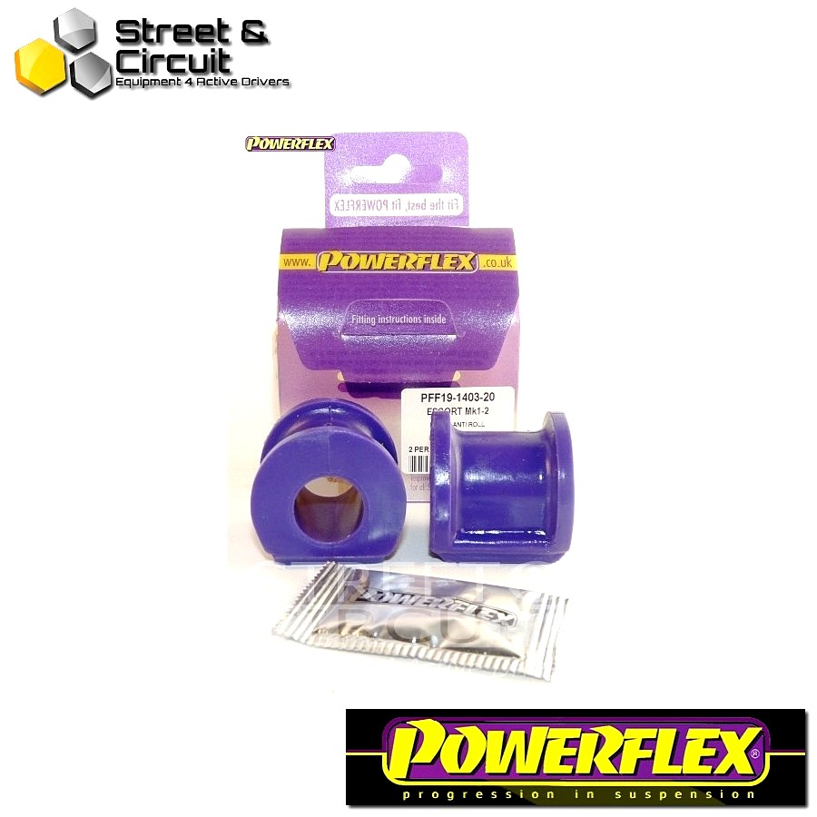 | ΑΡΙΘΜΟΣ ΣΧΕΔΙΟΥ 3 | - Powerflex ROAD *ΣΕΤ* Σινεμπλόκ - Capri - Front Anti Roll Bar Mount 20mm Code: PFF19-1403-20