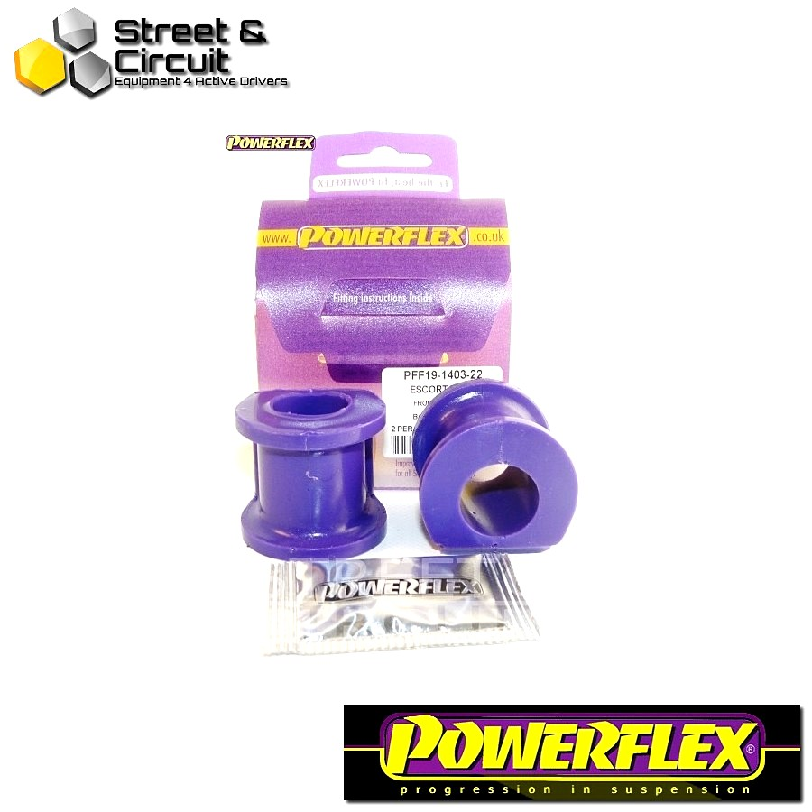 | ΑΡΙΘΜΟΣ ΣΧΕΔΙΟΥ 3 | - Powerflex ROAD *ΣΕΤ* Σινεμπλόκ - Capri - Front Anti Roll Bar Mount 22mm Code: PFF19-1403-22