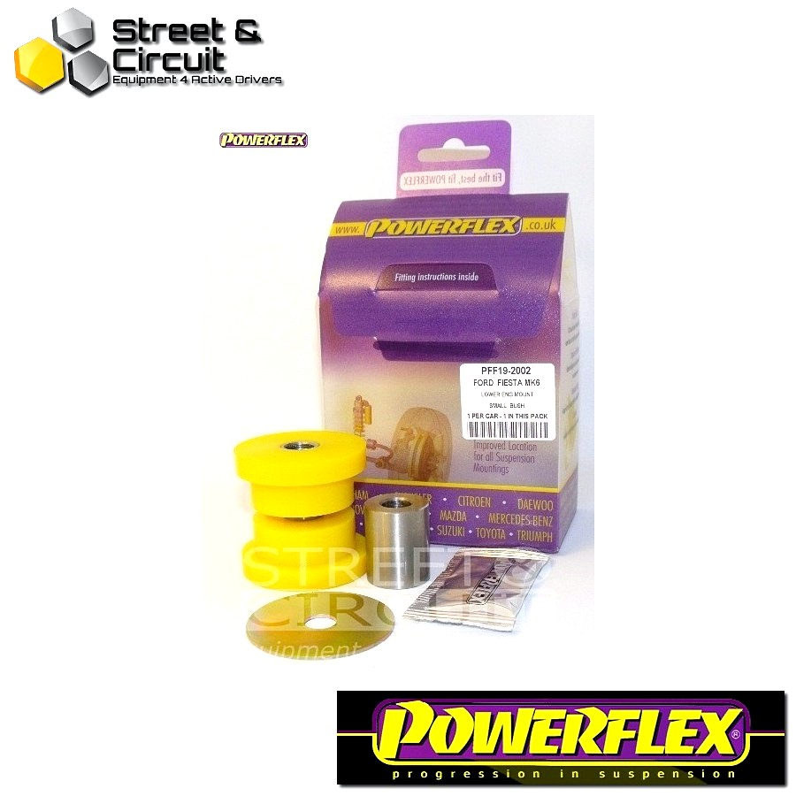 | ΑΡΙΘΜΟΣ ΣΧΕΔΙΟΥ 6 | - Powerflex ROAD *ΣΕΤ* Σινεμπλόκ - Fiesta Mk7 inc ST (2008-) - Lower Engine Mount Small Bush 30mm Bracket Code: PFF19-2002