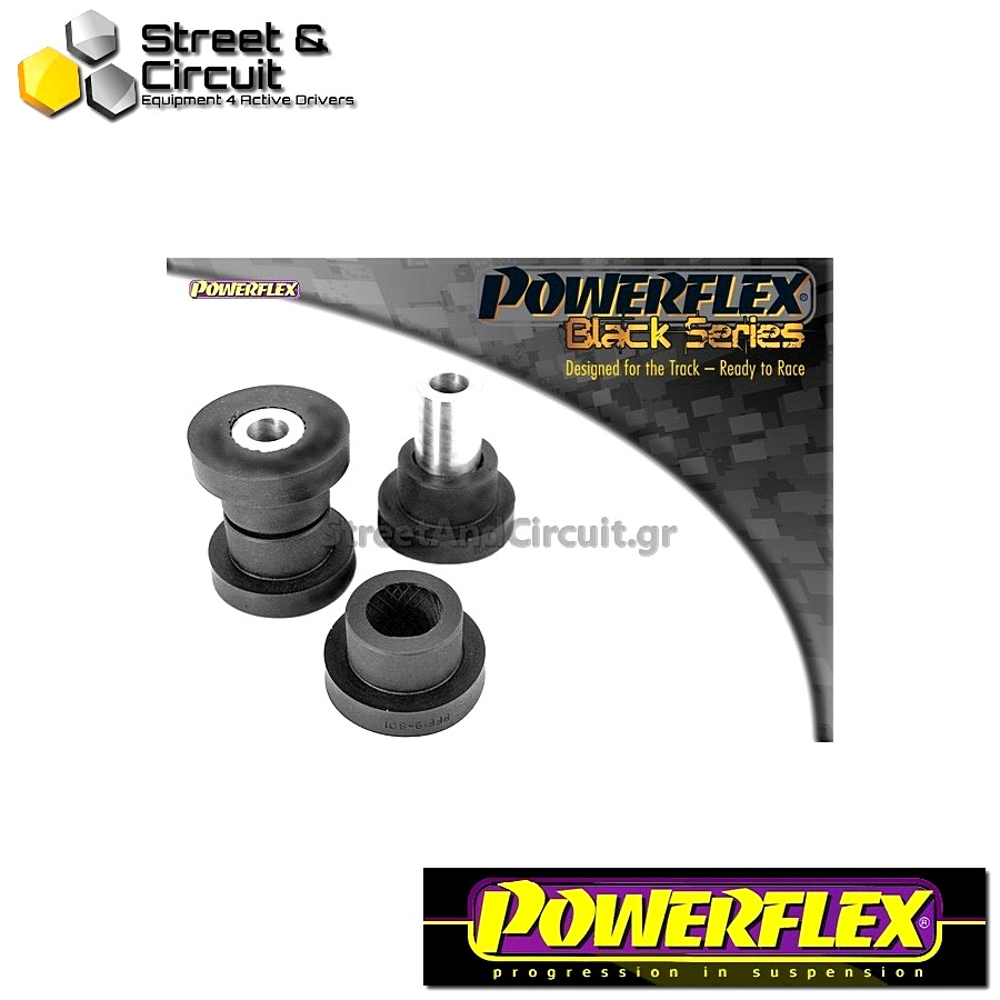 | ΑΡΙΘΜΟΣ ΣΧΕΔΙΟΥ 1 | - Powerflex BLACK SERIES *ΣΕΤ* Σινεμπλόκ - Mazda3 (2004-2009) - Front Lower Wishbone Front Bush 14mm bolt Code: PFF19-8011BLK