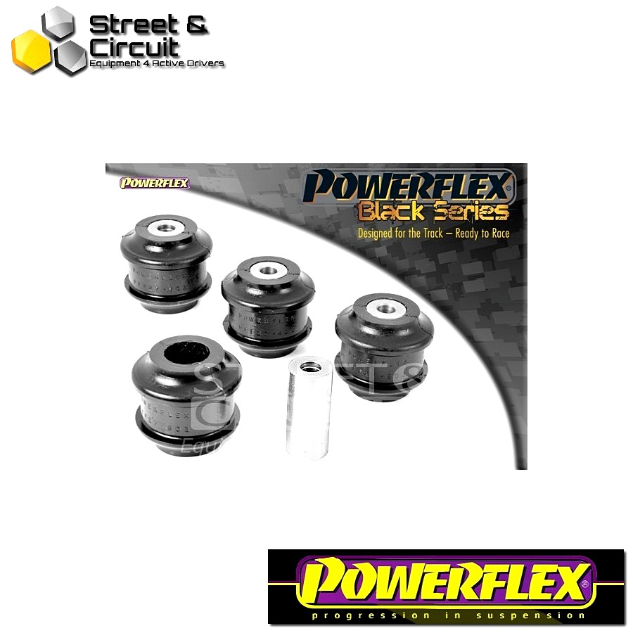 | ΑΡΙΘΜΟΣ ΣΧΕΔΙΟΥ 3 | - Powerflex BLACK SERIES *ΣΕΤ* Σινεμπλόκ - F Type (2013-) - Front Upper Arm Bush Code: PFF27-603BLK