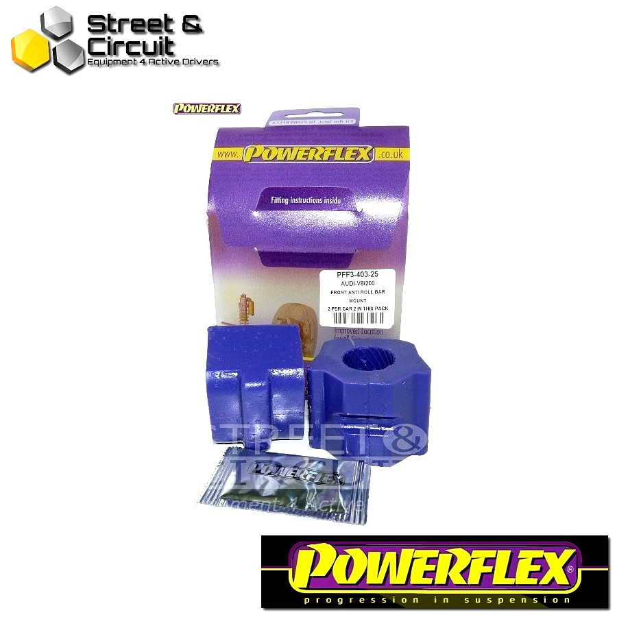 | ΑΡΙΘΜΟΣ ΣΧΕΔΙΟΥ 3 | - Powerflex ROAD *ΣΕΤ* Σινεμπλόκ - V8 Type 44 & 4C (10/88-11/93) - Front Anti Roll Bar To Chassis 25mm Code: PFF3-403-25
