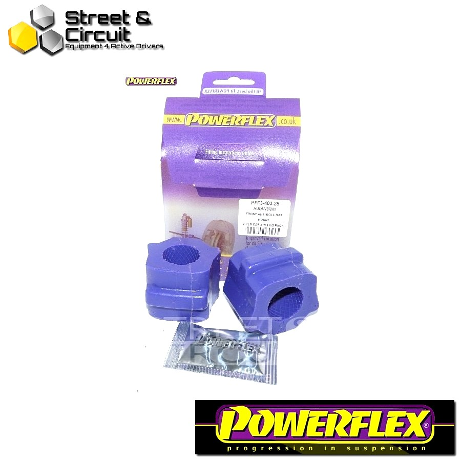 | ΑΡΙΘΜΟΣ ΣΧΕΔΙΟΥ 3 | - Powerflex ROAD *ΣΕΤ* Σινεμπλόκ - V8 Type 44 & 4C (10/88-11/93) - Front Anti Roll Bar To Chassis 28mm Code: PFF3-403-28