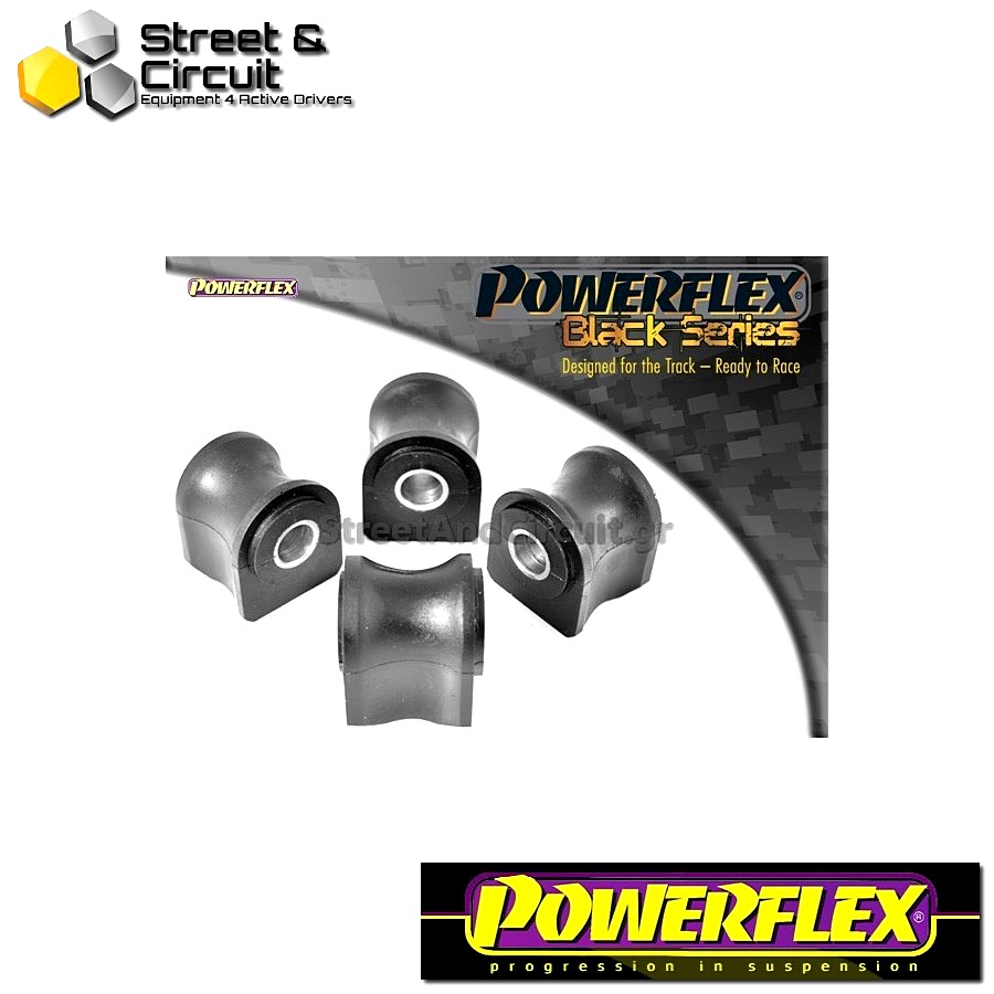 | ΑΡΙΘΜΟΣ ΣΧΕΔΙΟΥ 1 | - Powerflex BLACK SERIES *ΣΕΤ* Σινεμπλόκ - Integrale 16v - Front Wishbone Bush Code: PFF30-301BLK