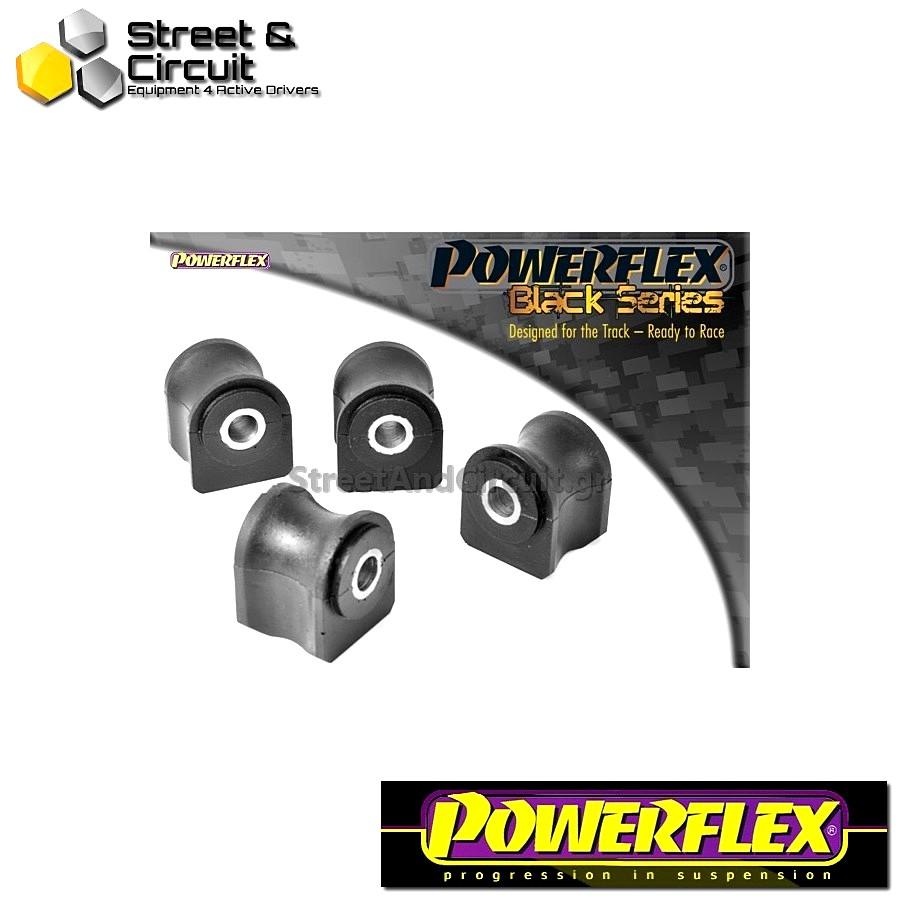 | ΑΡΙΘΜΟΣ ΣΧΕΔΙΟΥ 1 | - Powerflex BLACK SERIES *ΣΕΤ* Σινεμπλόκ - Integrale 16v - Front Wishbone Bush Code: PFF30-302BLK