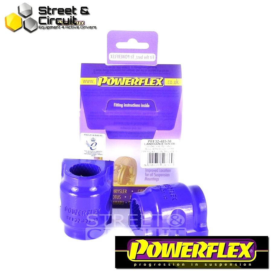 | ΑΡΙΘΜΟΣ ΣΧΕΔΙΟΥ 3 | - Powerflex ROAD *ΣΕΤ* Σινεμπλόκ - Discovery Series III (2004 - 2009) - Front Anti Roll Bar Bush 30mm Code: PFF32-403-30
