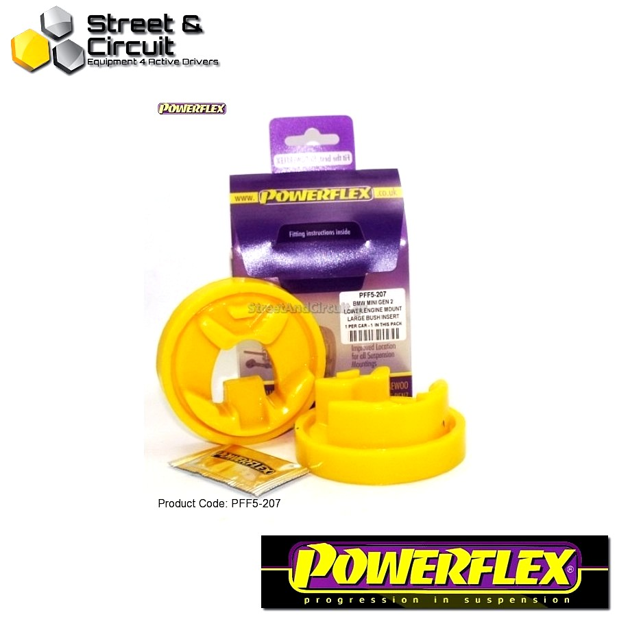 | ΑΡΙΘΜΟΣ ΣΧΕΔΙΟΥ 7 | - Powerflex ROAD *ΣΕΤ* Σινεμπλόκ - Mini Generation 2 - Lower Engine Mount Large Bush Insert Code: PFF5-207