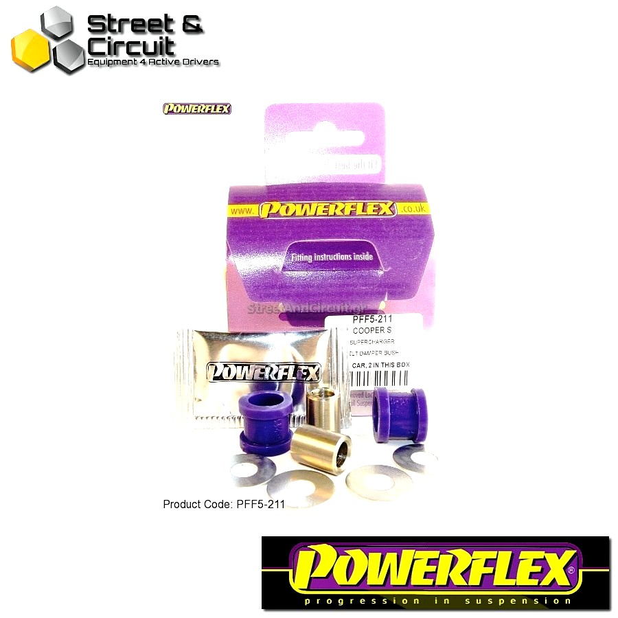 | ΑΡΙΘΜΟΣ ΣΧΕΔΙΟΥ 12 | - Powerflex ROAD *ΣΕΤ* Σινεμπλόκ - Mini Generation 1 - Super Charger Belt Damper Bushes Code: PFF5-211