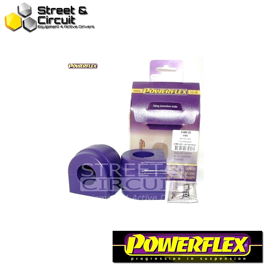 | ΑΡΙΘΜΟΣ ΣΧΕΔΙΟΥ 3 | - Powerflex ROAD *ΣΕΤ* Σινεμπλόκ - E53 X5 (1999-2006) - Front Anti Roll Bar To Chassis 29mm Code: PFF5-905-29