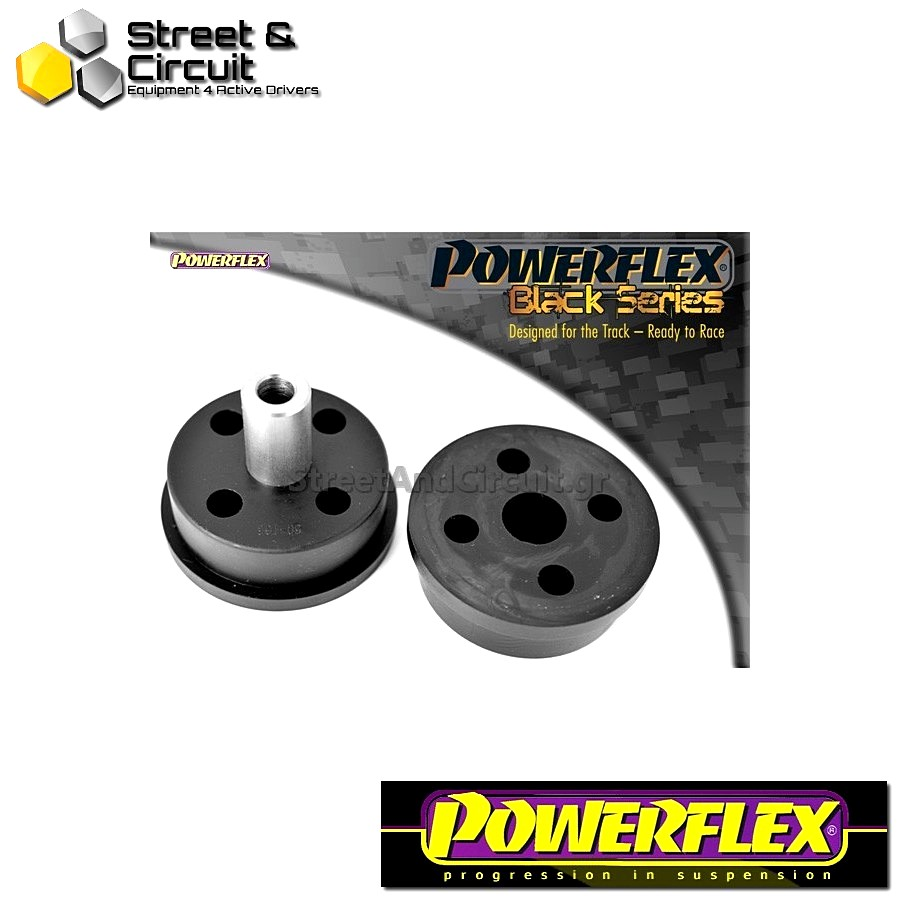| ΑΡΙΘΜΟΣ ΣΧΕΔΙΟΥ 6 | - Powerflex BLACK SERIES *ΣΕΤ* Σινεμπλόκ - 106 & 106 GTi/Rallye - Front Lower Engine Mount Code: PFF50-106BLK