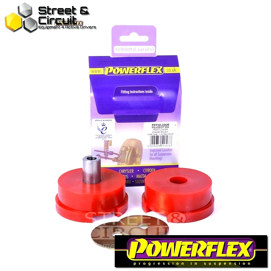 | ΑΡΙΘΜΟΣ ΣΧΕΔΙΟΥ 20 | - Powerflex ROAD *ΣΕΤ* Σινεμπλόκ - 206 - Lower Rear Engine Mount Bush - Diesel Engine Code: PFF50-306R