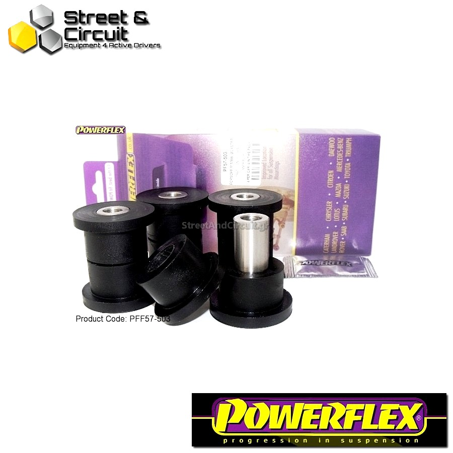 | ΑΡΙΘΜΟΣ ΣΧΕΔΙΟΥ 6 | - Powerflex ROAD *ΣΕΤ* Σινεμπλόκ - 997 (2005-2012) - Rear Track Control Arm Inner Bush Code: PFF57-503