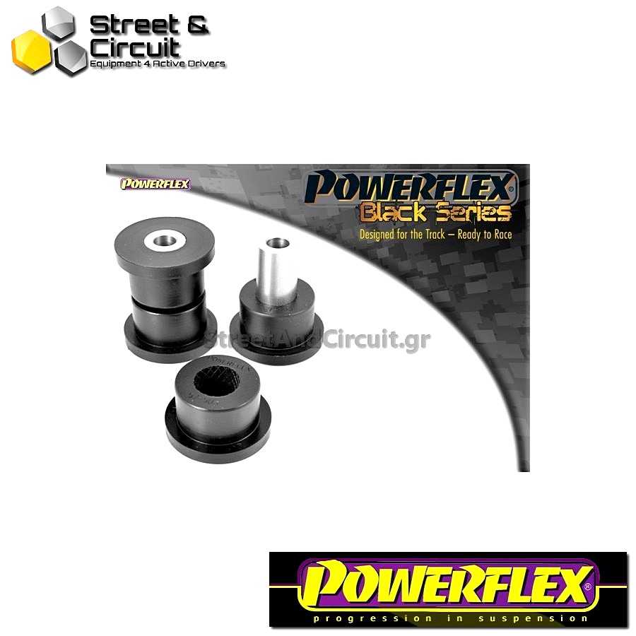 | ΑΡΙΘΜΟΣ ΣΧΕΔΙΟΥ 6 | - Powerflex BLACK SERIES *ΣΕΤ* Σινεμπλόκ - 997 (2005-2012) - Rear Track Control Arm Inner Bush Code: PFF57-503BLK