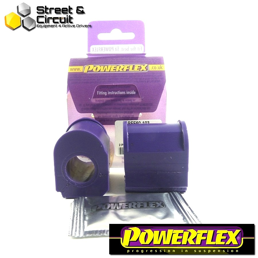 | ΑΡΙΘΜΟΣ ΣΧΕΔΙΟΥ 2 | - Powerflex ROAD *ΣΕΤ* Σινεμπλόκ - 5 GT Turbo - Front Anti Roll Bar Inner Mount 19mm Code: PFF60-103