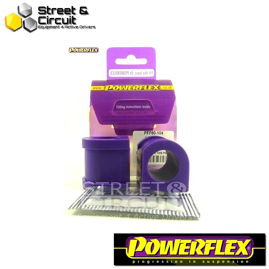 | ΑΡΙΘΜΟΣ ΣΧΕΔΙΟΥ 2 | - Powerflex ROAD *ΣΕΤ* Σινεμπλόκ - 5 GT Turbo - Front Anti Roll Bar Inner Mount 23mm Code: PFF60-104