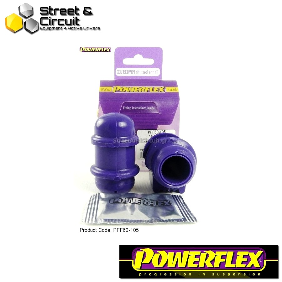 | ΑΡΙΘΜΟΣ ΣΧΕΔΙΟΥ 3 | - Powerflex ROAD *ΣΕΤ* Σινεμπλόκ - 5 GT Turbo - Front Anti Roll Bar Outer Mount Code: PFF60-105
