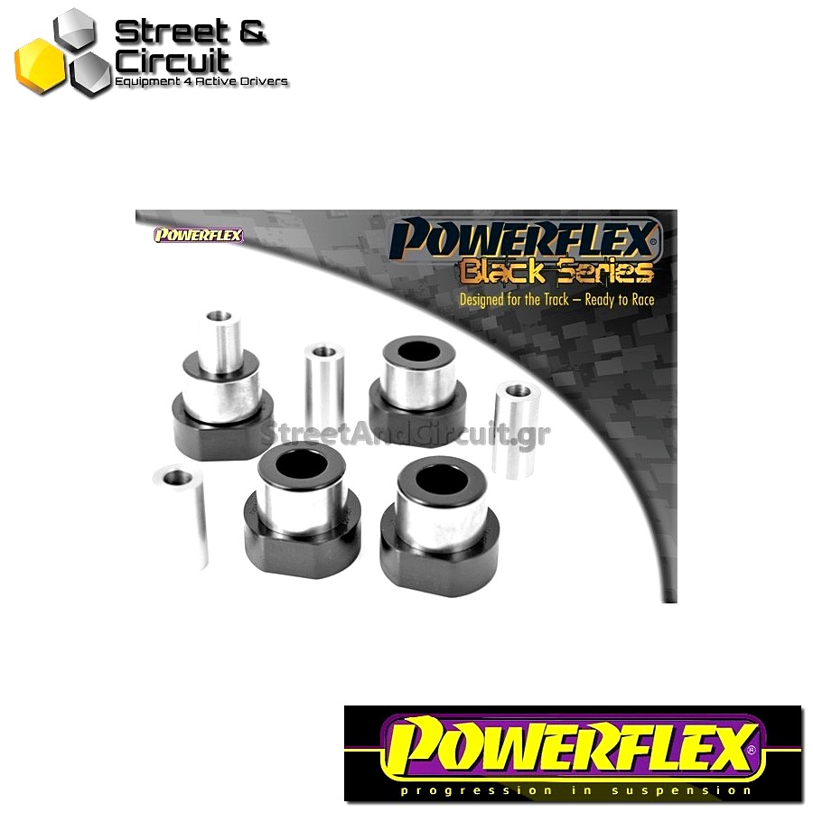 | ΑΡΙΘΜΟΣ ΣΧΕΔΙΟΥ 1 | - Powerflex BLACK SERIES *ΣΕΤ* Σινεμπλόκ - Clio including 16v & Williams - Front Lower Wishbone Bush Code: PFF60-201BLK