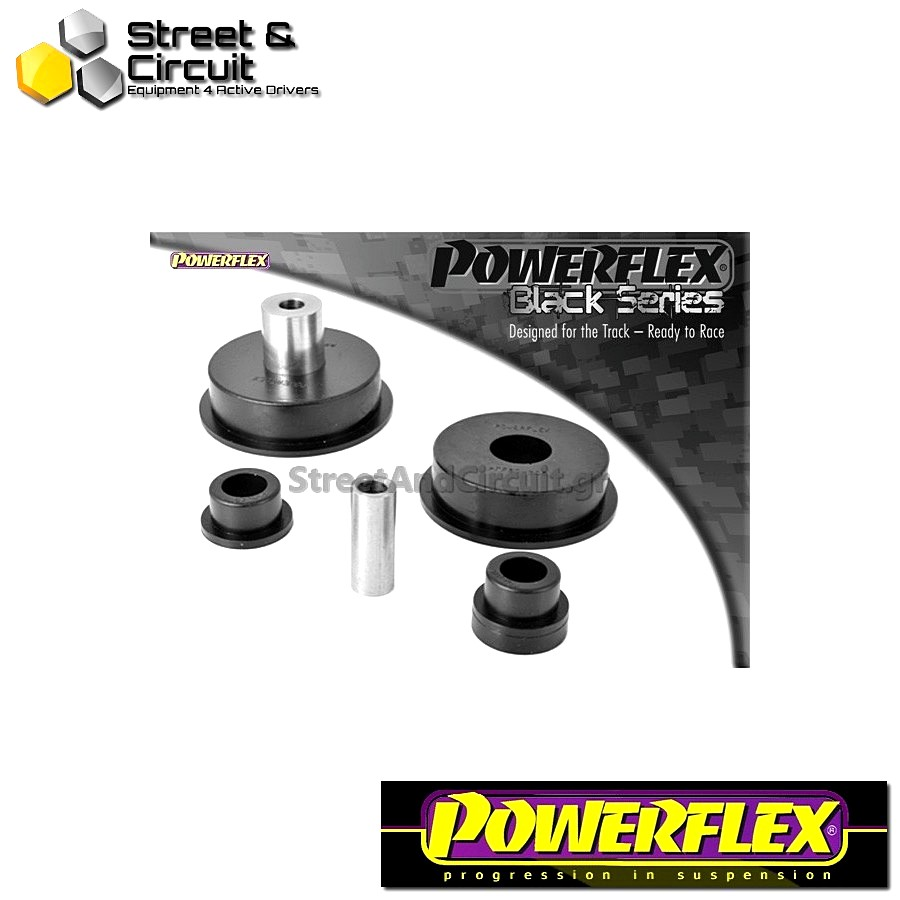| ΑΡΙΘΜΟΣ ΣΧΕΔΙΟΥ 5 | - Powerflex BLACK SERIES *ΣΕΤ* Σινεμπλόκ - Clio II (inc 172 & 182) - Dog Bone Engine Mount Bush Kit Code: PFF60-206KBLK