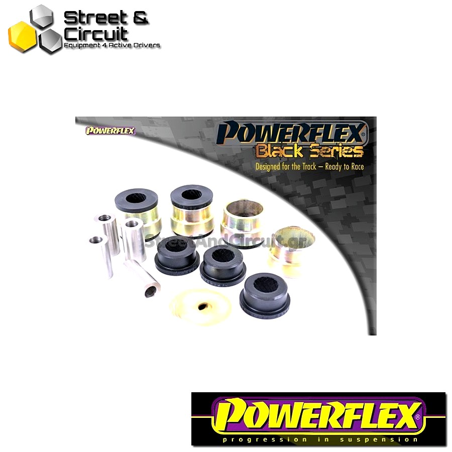 | ΑΡΙΘΜΟΣ ΣΧΕΔΙΟΥ 1 | - Powerflex BLACK SERIES *ΣΕΤ* Σινεμπλόκ - Clio II (inc 172 & 182) - Front Lower Wishbone Bush Code: PFF60-301BLK